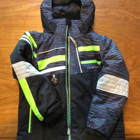 Boys Obermeyer Ski Jacket. M 5bba7f0ebaebf69ff5dedd06 512827ae7